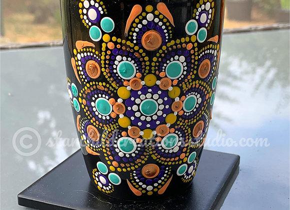 Purple Gold Medley Mandala Mug