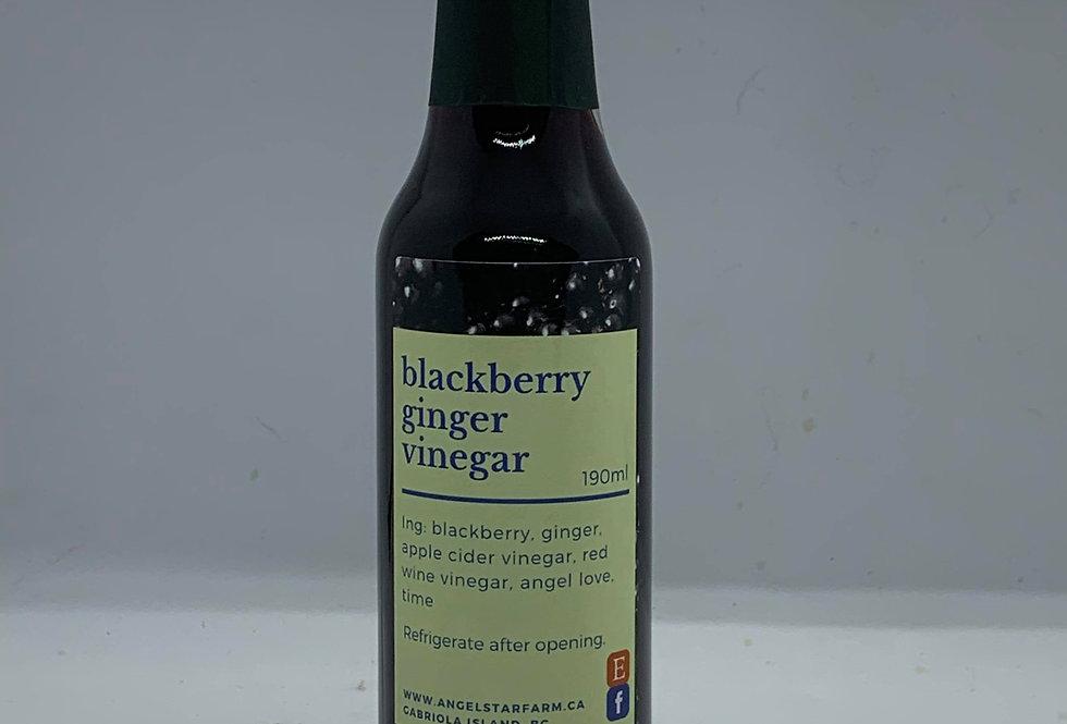 Blackberry Ginger Vinegar
