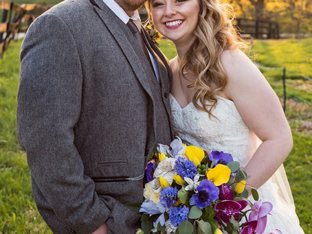 Kara + Ryan | Married at the Cobblestone Courtyard
