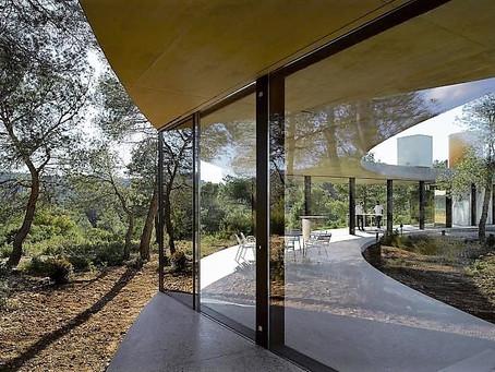 Agence création villa contemporaine Saint Tropez