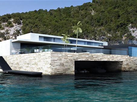 Une studio de design pour rénover une  maison à Saint Tropez