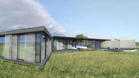 maison contemporaine bois aix en provenc