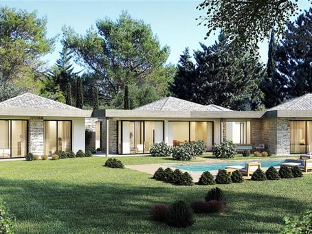 Création maisons contemporaines à Saint Tropez Ramatuelle