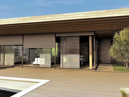 Projet maison contemporaine Aix en Provence
