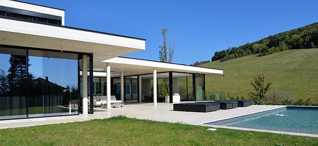 Cabinet d\'architecture maison contemporaine Aix en Provence