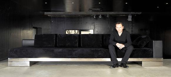 Canapé design cuir mobilier contemporain