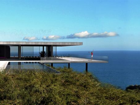 Projet maison contemporaine à Saint Tropez