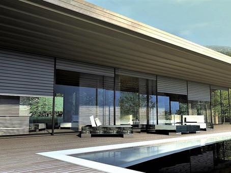 Maison moderne bois Aix en Provence
