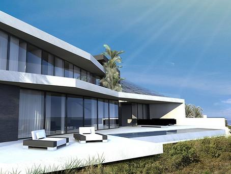 Projet construction maison contemporaine Cannes cote d'azur