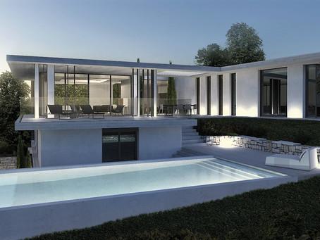 Création villa standing Saint Tropez