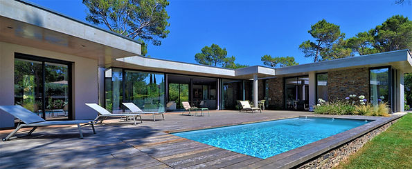 Architecte maison  contemporaine Aix en