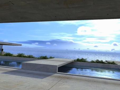 Construire maison design de prestige en bord de mer à Saint tropez