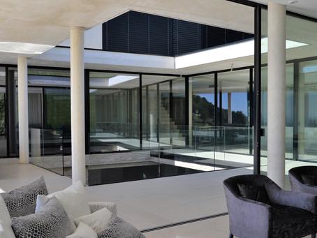 Cabinet design villa contemporaine à St Tropez