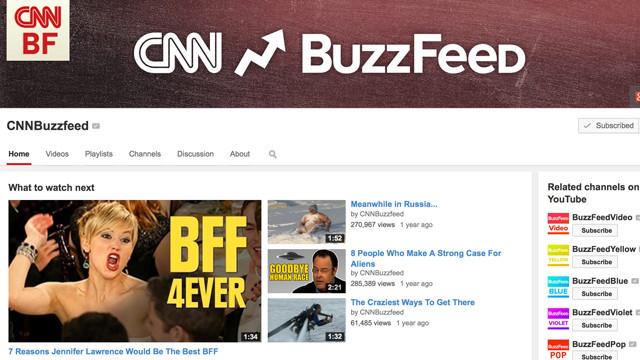 Online Video Spotlight: CNN BuzzFeed