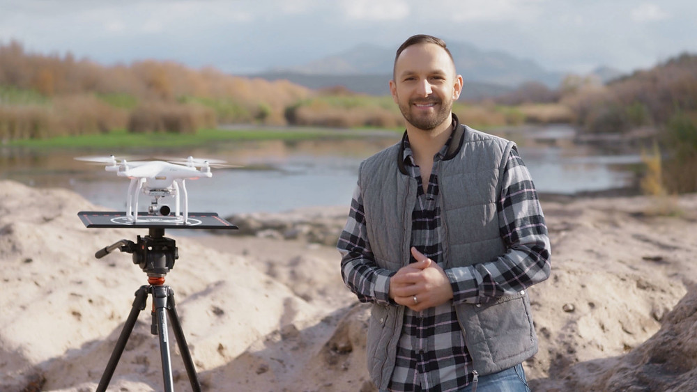 Engage Social Media Audiences with Drones