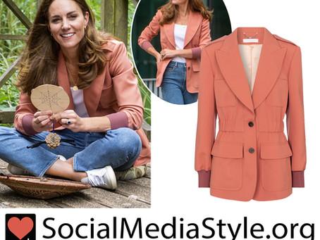 Kate Middleton's pink blazer