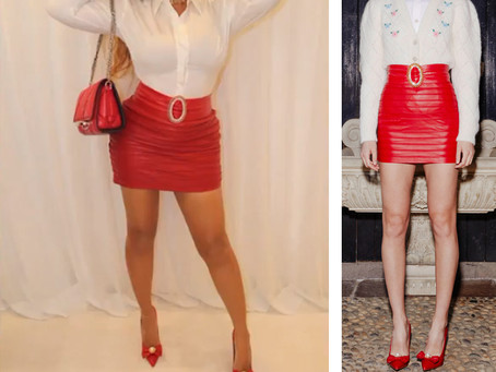 Beyonce's Valentine's Day outfit