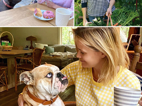 Reese Witherspoon's Draper James gingham sweatshirts