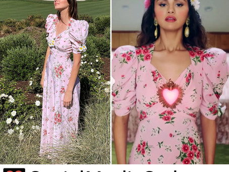 Kendall Jenner and Selena Gomez's floral print dress