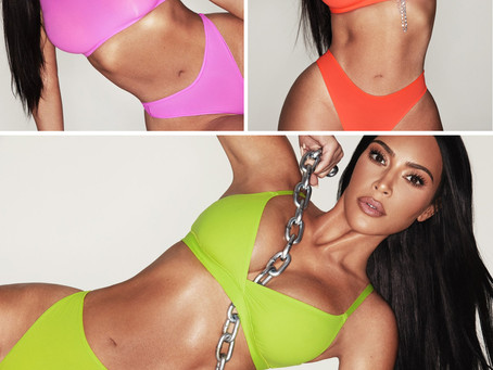 Kim Kardashian's Skims neon collection