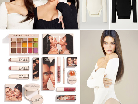 Kendall and Kylie Jenner's makeup and sweaters