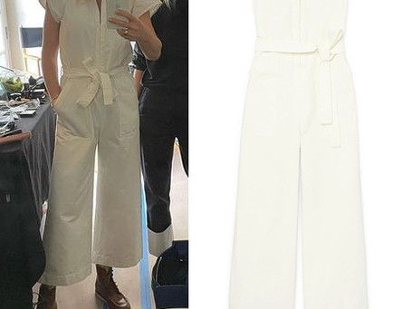Gwyneth Paltrow's white jumpsuit