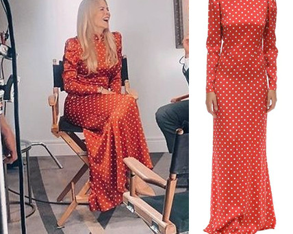 Nicole Kidman's red polka dot gown from the 2019 TIFF
