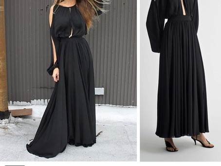 Sarah Jessica Parker's cutout black gown