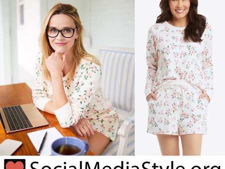 Reese Witherspoon's Draper James floral print pajamas