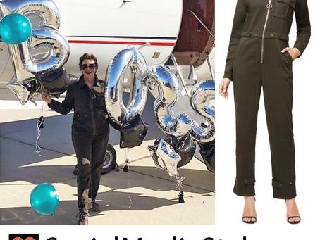 Kris Jenner's Good American Flight Suit