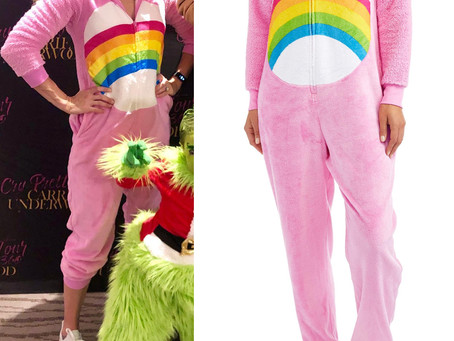 Carrie Underwood's Care Bear onesie costume