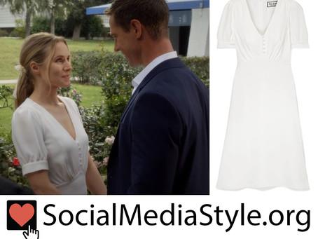 Veronica (Kristen Bell)'s wedding dress from Veronica Mars