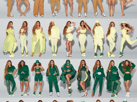 Beyonce's adidas x Ivy Park outfits