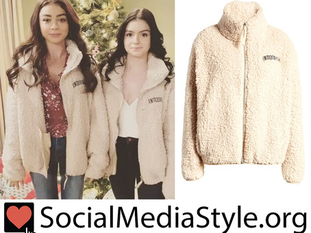 Sarah Hyland and Ariel Winter's Sub_Urban Riot Indoorsy Teddy Jacket