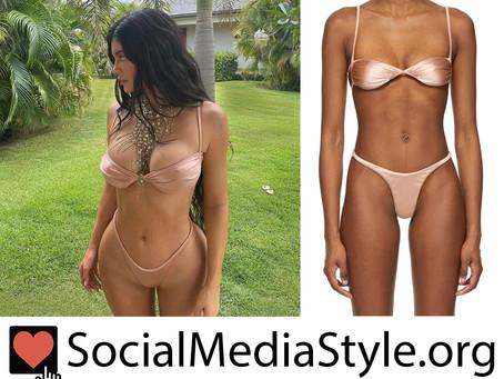 Kylie Jenner's blush pink bikini