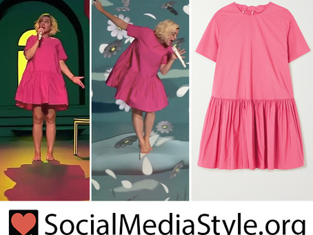 Katy Perry's voluminous pink dress from American Idol