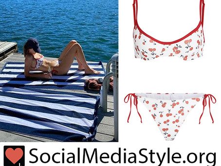 Kendall Jenner's cherry print bikini