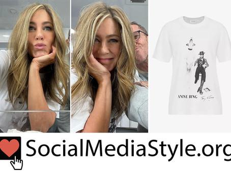 Jennifer Aniston's David Bowie t-shirt