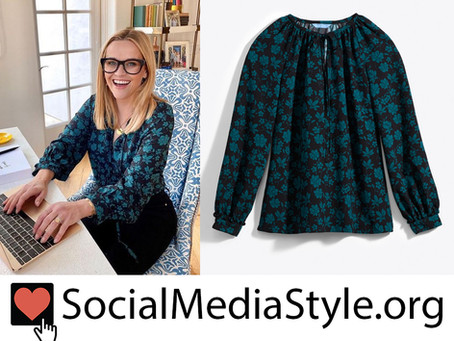Reese Witherspoon's Draper James floral print top