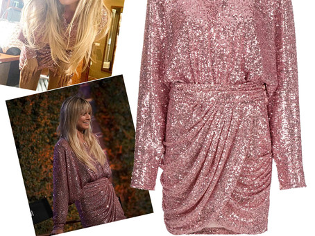 Heidi Klum's pink sequin dress from America's Got Talent