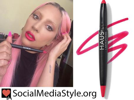 Haus Laboratories by Lady Gaga: Le Monster Matte Lip Crayon in Rebel