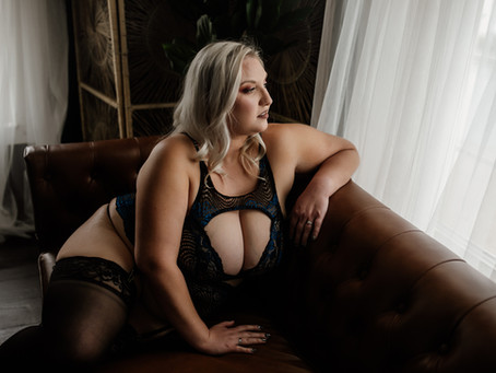 """it gave me a better outlook on myself. I have more confidence when naked, or in lingerie"""