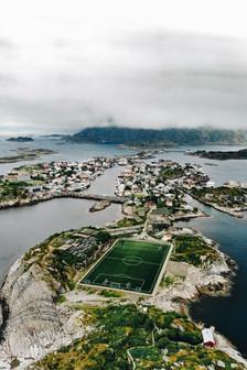 Lofoten - henningsvær stadion