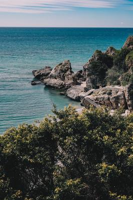 Nerja - hav