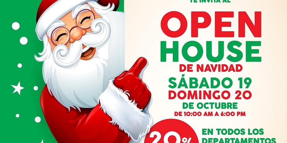 Open House de Navidad