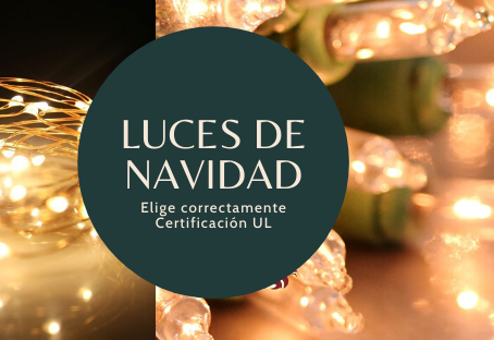 SOSDECOR Tips - Navidad sin riesgos - Luces de navidad con certificación UL