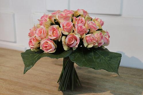 Bouquets To Go - Mini Rosas atado