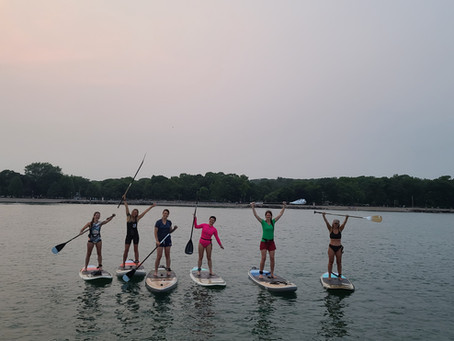 Five Reasons to Take a SUP Lesson