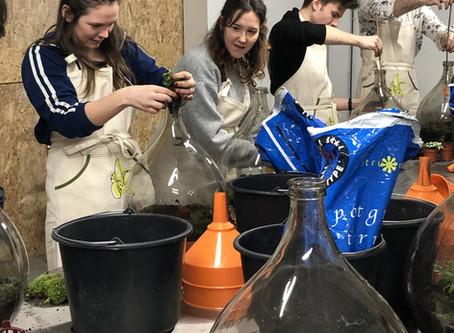 Biosferen bij Studio Fluo in Antwerpen