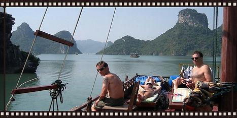 7A7 translators on Along Bay, Vietnam